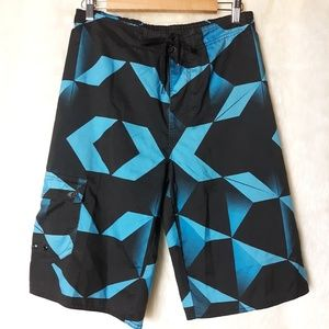 Hang Ten Board/Swim Shorts Youth Sz XL